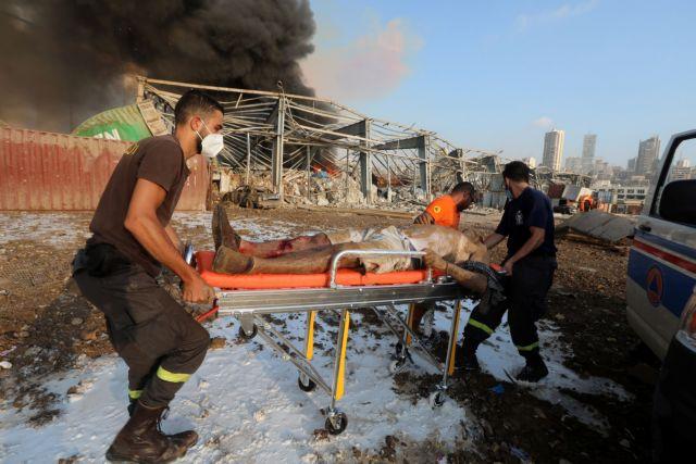 Βηρυτός: Μια Ελληνίδα νεκρή και δύο τραυματίες στη φονική έκρηξη