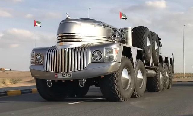 O Σεΐχης του Ντουμπάι έφτιαξε το απόλυτο όχημα επιβίωσης (video)