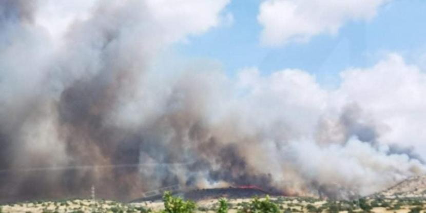 Νέα μεγάλη πυρκαγιά στην Κύπρο – Εκκενώθηκε χωριό