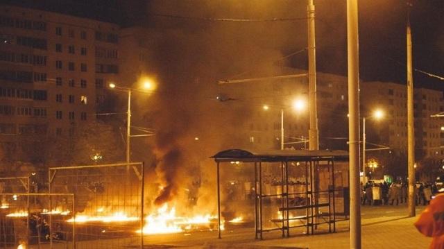 Λευκορωσία: Νεκρός διαδηλωτής από βόμβα που ανατινάχτηκε στα χέρια του
