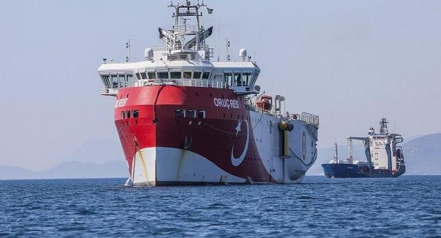 Oruc Reis: Εντός της ζώνης της συμφωνίας Ελλάδας - Αιγύπτου το τουρκικό σκάφος