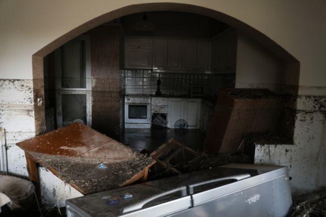Καταστροφές στην Εύβοια: Πάνω από 3.000 σπίτια έχουν πλημμυρίσει μετά την θεομηνία