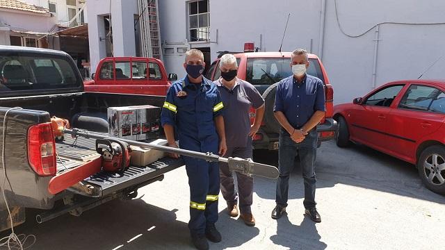 Προσφορά εξοπλισμού από τον Δήμο Ζαγοράς –Μουρεσίου στην Πυροσβεστική