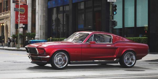 Μια κλασική Ford Mustang με…γεύση από Tesla