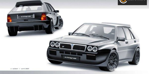 Η Lancia Delta Integrale γίνεται ηλεκτρική