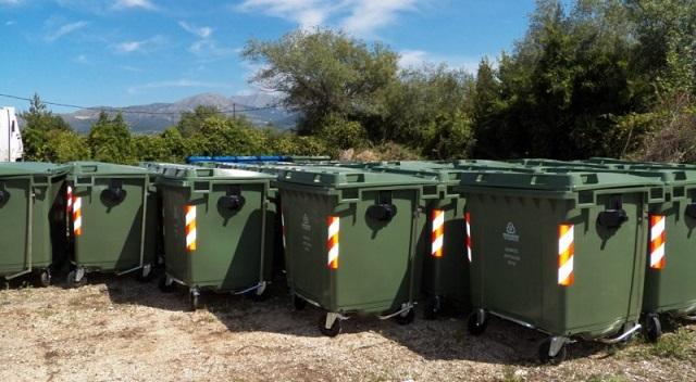 300 καινούργιοι κάδοι στον Δήμο Αλμυρού