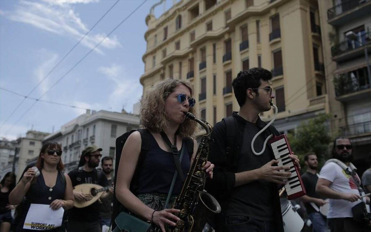 Στον δρόμο οι μουσικοί