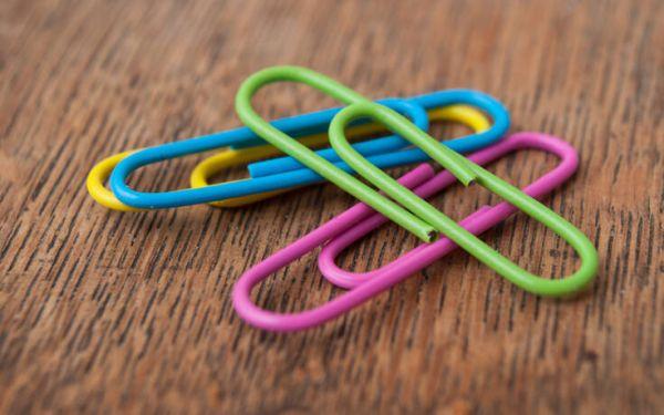 Τρεις απίστευτες χρήσεις για τους συνδετήρες