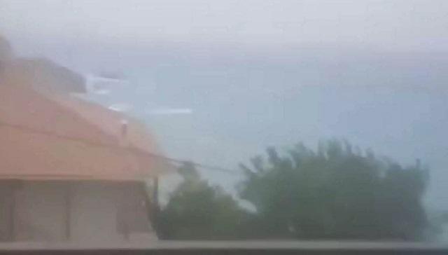 Ιανός: Χάθηκε ο ορίζοντας στην Λευκάδα- Διακοπές ρεύματος σε Ζάκυνθο, Κεφαλονιά και Ιθάκη (βίντεο)