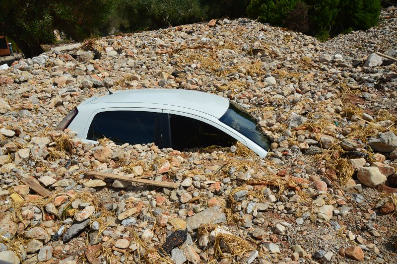 Kεφαλονιά: Εικόνες καταστροφής στο γραφικό χωριό Άσσος