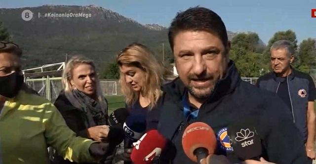 Δηλώσεις Χαρδαλιά για τον απεγκλωβισμό ατόμων στην Καρδίτσα –Τι θα γίνει με τους υπόλοιπους