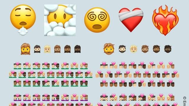 Νέα emojis αντικατοπτρίζουν το χάος και τη σύγχυση του 2020