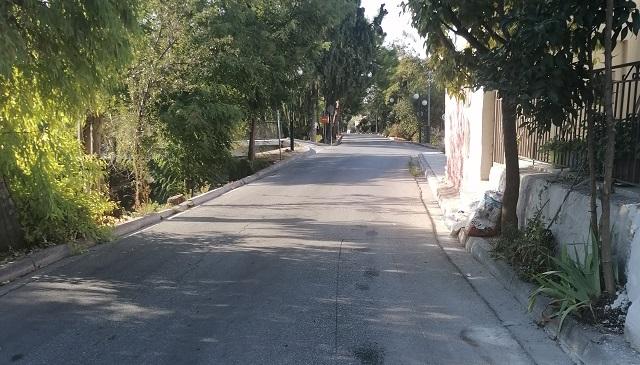Δρόμος χωρίς πεζοδρόμια