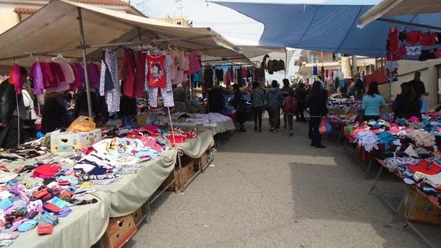 Αναστέλλεται η λειτουργία λαϊκών ένδυσης-υπόδησης του Δήμου Βόλου