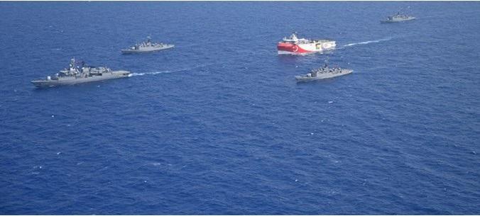 Χωρίς τέλος οι προκλήσεις της Τουρκίας: Εξέδωσε 3 νέες Navtex σε Αιγαίο και Μεσόγειο