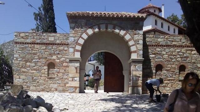 Ξεκινούν τα έργα αποκατάστασης στην Μονή Παναγίας Οδηγήτριας στην Πορταριά