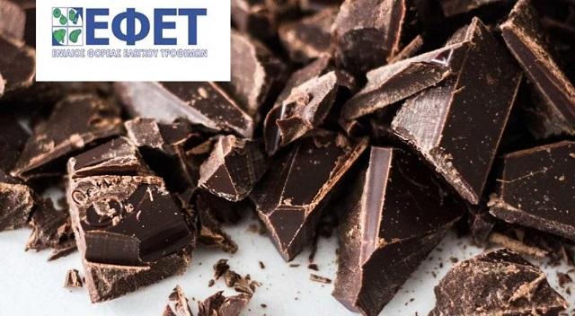 Ανάκληση γνωστής σοκολάτας γάλακτος από τον ΕΦΕΤ