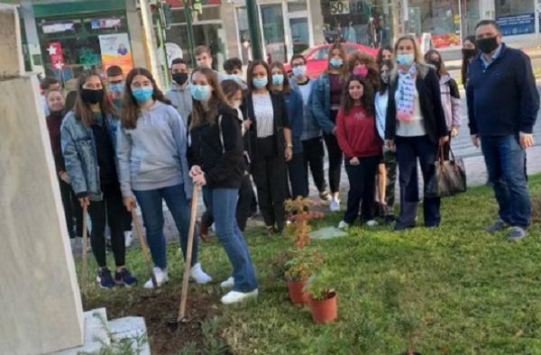 Περιβαλλοντική βιωματική δράση του Δήμου Βόλου και του 3ου Γυμνασίου