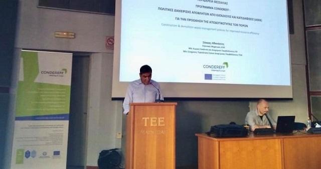 Θαν. Μόρας: Εφαρμογή «πράσινων» πρωτόκολλων στη διαχείριση δομικών αποβλήτων