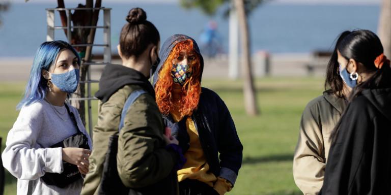Μήνυμα του «112» από την Πολιτική Προστασία σε Θεσσαλονίκη και Λάρισα: «Φοράτε υποχρεωτικά μάσκα» [εικόνες]