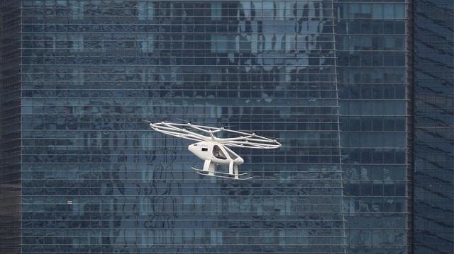 Ισπανία: Σχέδια για ιπτάμενα ταξί στην Βαρκελώνη