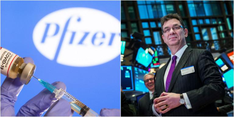Εβγαλε 5,6 εκατ. σε μια μέρα ο Αλβέρτος Μπουρλά της Pfizer -Πούλησε πακέτο μετοχών