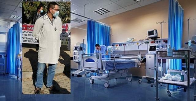 Νταφούλης: Γεμάτη από ασθενείς Covid-19 η ΜΕΘ του Νοσοκομείου Λάρισας, ένα κενό κρεβάτι στο Πανεπιστημιακό