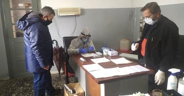 Αρνητικά όλα τα rapid tests covid-19 στο προσωπικό του Δήμου Ζαγοράς -Μουρεσίου
