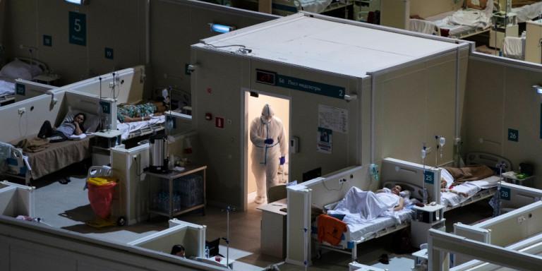 Ρωσία: Εκρηξη σε αγωγό οξυγόνου στο κεντρικό νοσοκομείο αναφοράς κορονοϊού της Μόσχας