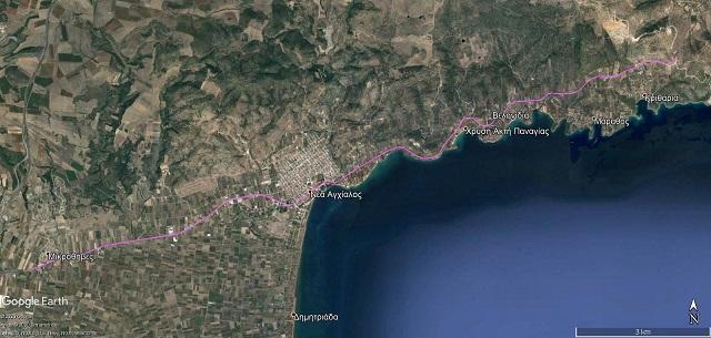 Ξεκινά η μελέτη του έργου βελτίωσης του δρόμου Μικροθήβες -Μπουρμπουλήθρα