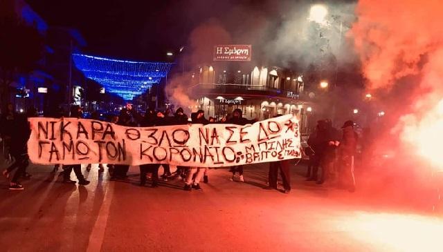 Νικιώτικο συλλαλητήριο κατά του… κορονοϊού