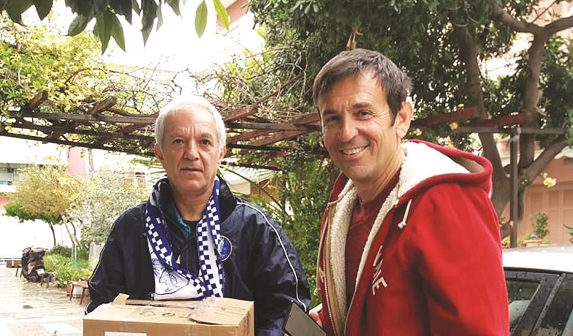 Γιάννης Καζεπίδης: «Η Νίκη Βόλου είναι ιερό κειμήλιο»