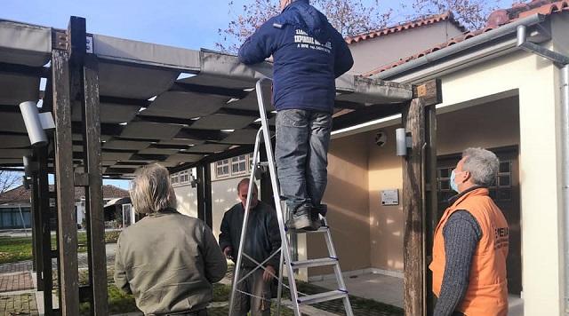 Επισκευές και συντηρήσεις σε κοινόχρηστους χώρους στο Στεφανοβίκειο