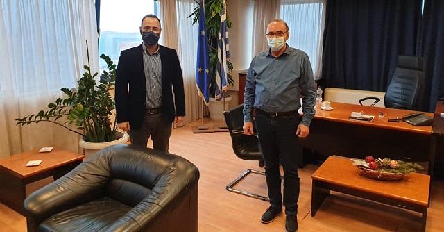 Συνάντηση του Κων. Μαραβέγια με τον νέο Συντονιστή της Αποκεντρωμένης Διοίκησης Θεσσαλίας