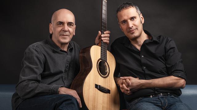 Μουσική διαδικτυακή βραδιά με τους Ορφέα Περίδη και Μανόλη Ανδρουλιδάκη