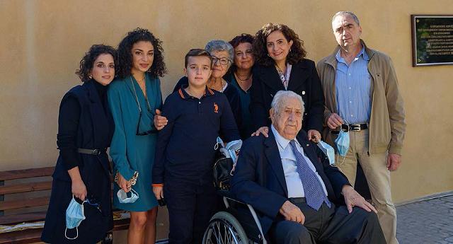 Το Γηροκομείο Καναλίων αποχαιρετά τον μεγάλο ευεργέτη του Χαρ. Τσιμά