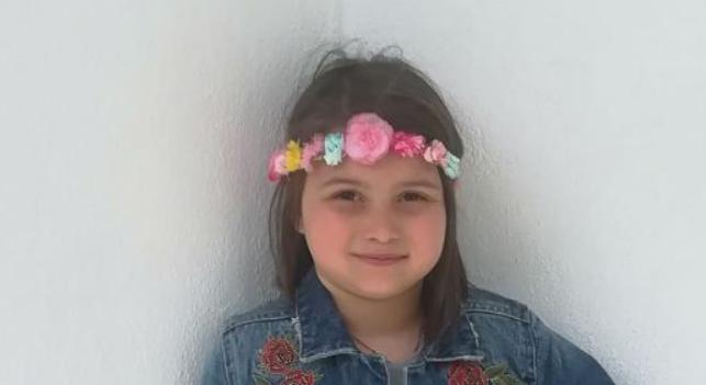 Άγγελος στον ουρανό η 8χρονη Θωμαή από το Βελεστίνο