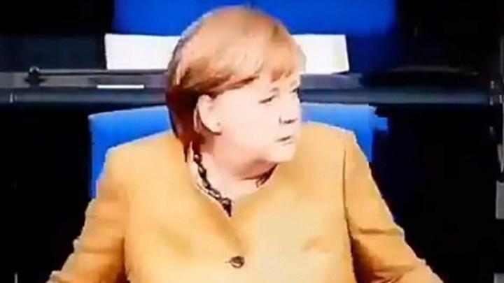 Μέρκελ: Η αντίδραση πανικού όταν συνειδητοποίησε ότι ξέχασε τη μάσκα της