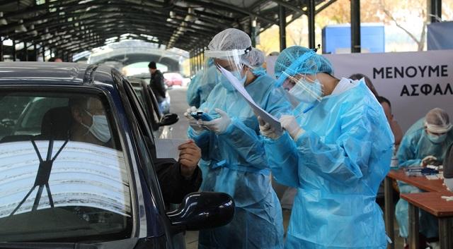 Τρία θετικά από τα 244 rapid tests σήμερα στον Βόλο