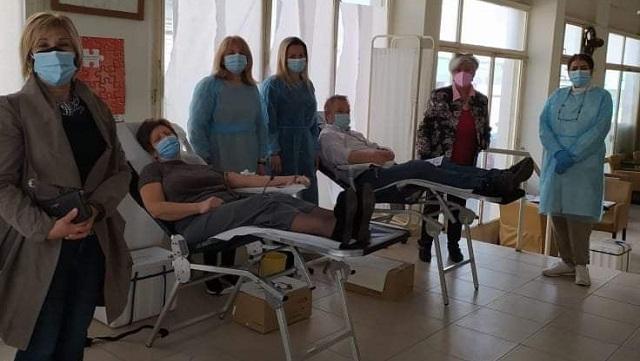 Με επιτυχία η εθελοντική αιμοδοσία στο Βελεστίνο