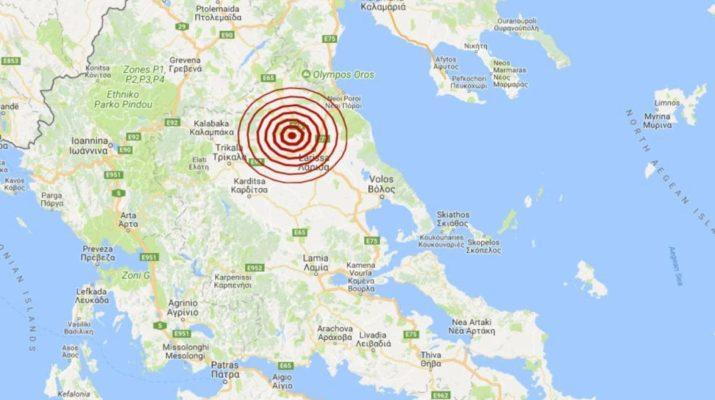 Νέα μετασεισμική δόνηση 4,1 Ρίχτερ στην Ελασσόνα – «Κουνήθηκε» και η Λάρισα
