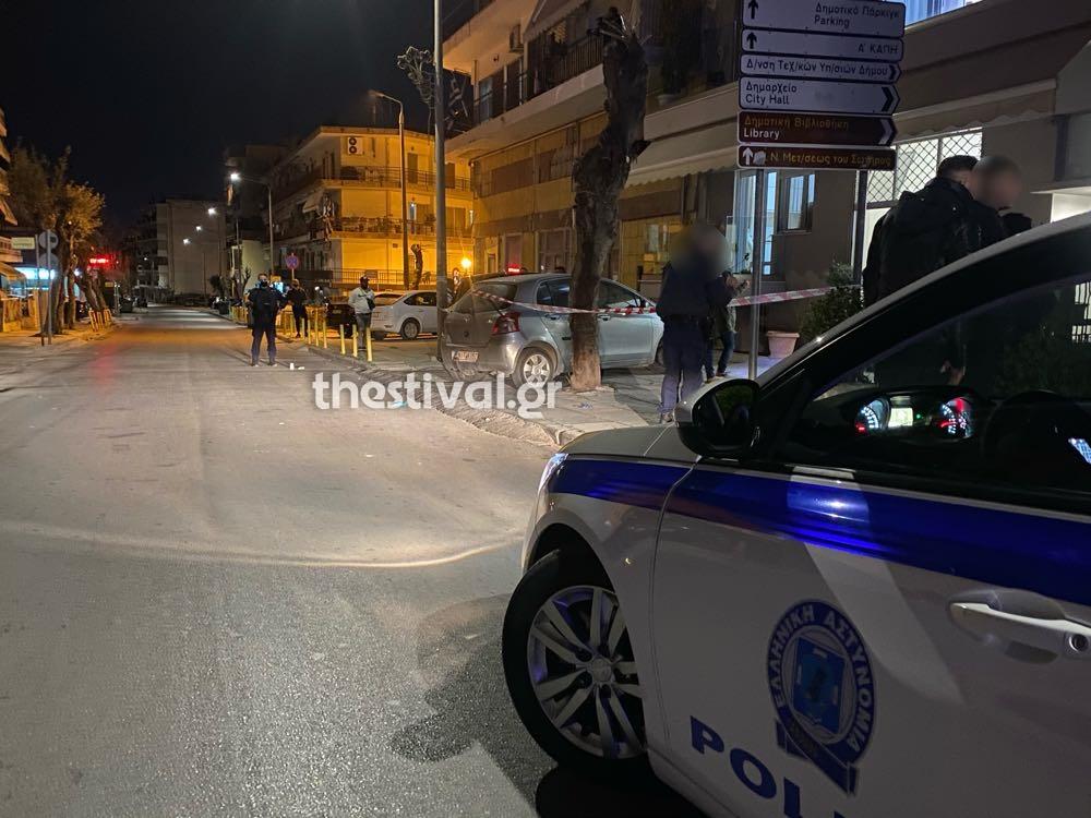 Αναστάτωση από πυροβολισμούς στη Θεσσαλονίκη