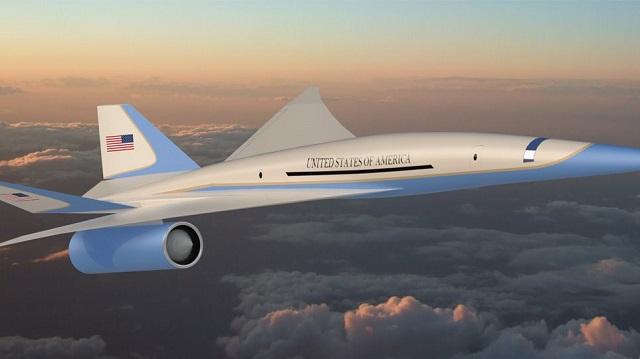 Αυτό θα είναι το νέο προεδρικό Air Force One -Θα διασχίζει τους αιθέρες με ταχύτητα διπλάσια του ήχου