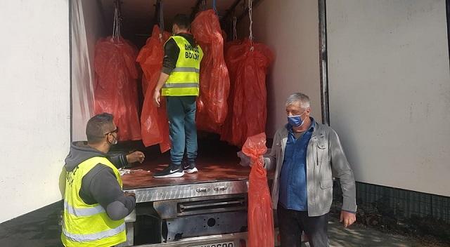 Διανεμήθηκε ποσότητα κρέατος σε 400 και πλέον οικογένειες του Δήμου Βόλου