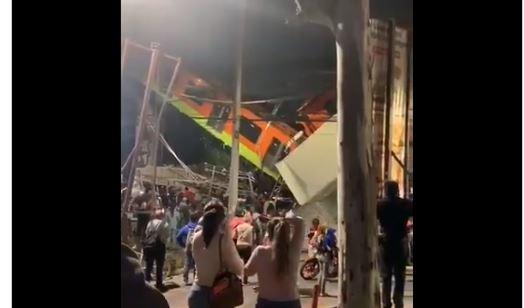 Τραγωδία στο Μεξικό: 15 νεκροί έπειτα από κατάρρευση γέφυρας του Μετρό