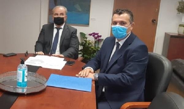 Συνεργασία Χρ. Μπουκώρου με τον Αν. Υπουργό Ανάπτυξης για το έργο της Βαμβακουργίας