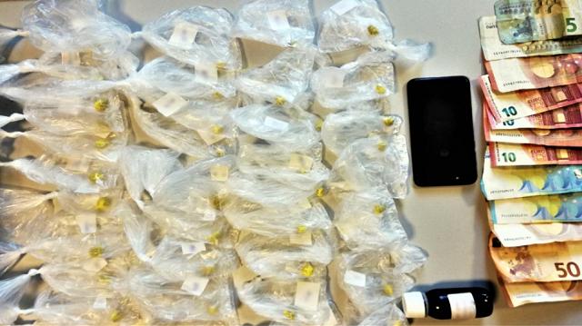 Καταζητούμενος έκρυβε ηρωίνη και μεθαδόνη σε χωράφι στον Τύρναβο