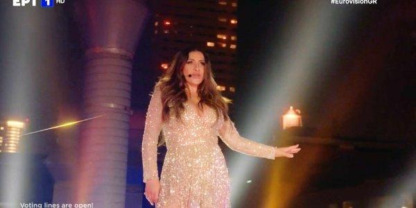Τελικός Eurovision 2021 με Έλενα Παπαρίζου