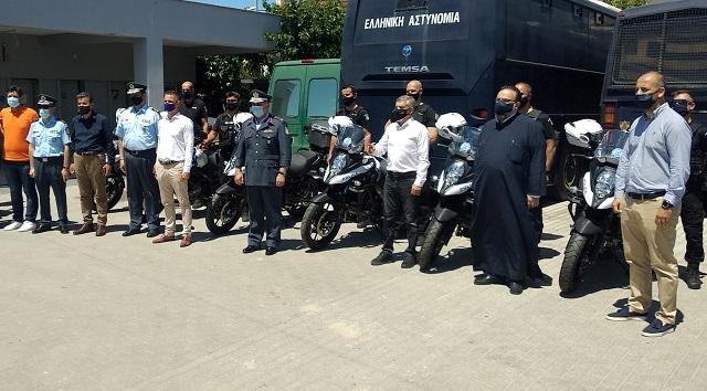 Δεκαέξι νέες μοτοσικλέτες στην Αστυνομική Διεύθυνση Θεσσαλίας –Οι 4 στη Μαγνησία