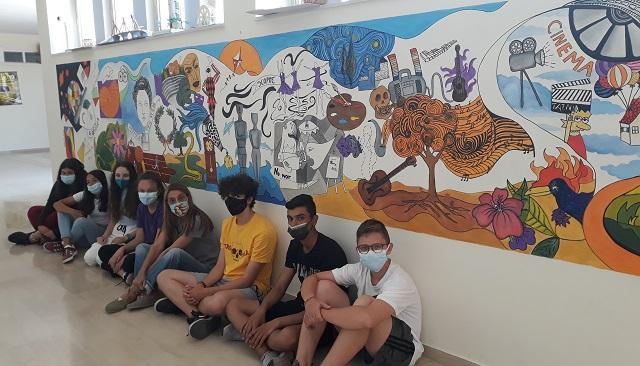 Πανελλήνιο βραβείο για τοιχογραφία μαθητών στο Γυμνάσιο Ευξεινούπολης